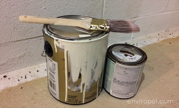 Lead can be found in paint